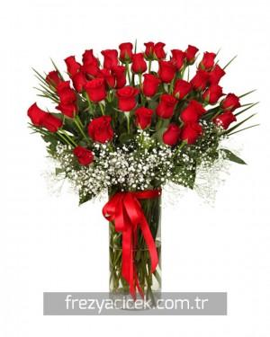 Aşk Dolu 41 Kırmızı Gul